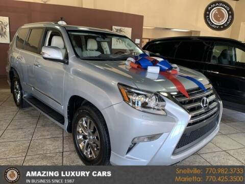 2015 Lexus GX 460 for sale at Amazing Luxury Cars in Snellville GA