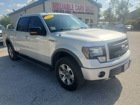 2013 Ford F-150 for sale at Reliable Cars Sales in Michigan City IN