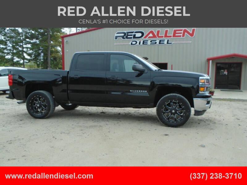 2014 Chevrolet Silverado 1500 for sale at RED ALLEN DIESEL in Anacoco LA