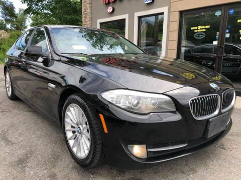 2011 BMW 5 Series for sale at Route 123 Motors in Norton MA
