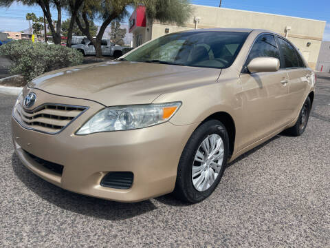 2010 Toyota Camry for sale at Tucson Auto Sales in Tucson AZ