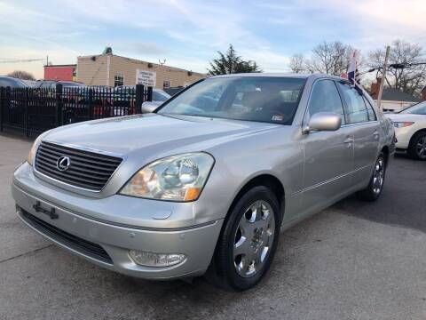 2003 Lexus LS 430 for sale at Crestwood Auto Center in Richmond VA