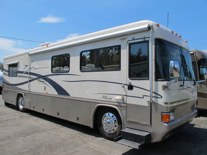 2001 COUNTRY COACH 36 ALLURE DBL SLIDE for sale at Oregon RV Outlet LLC - Diesel Motorhomes in Grants Pass OR