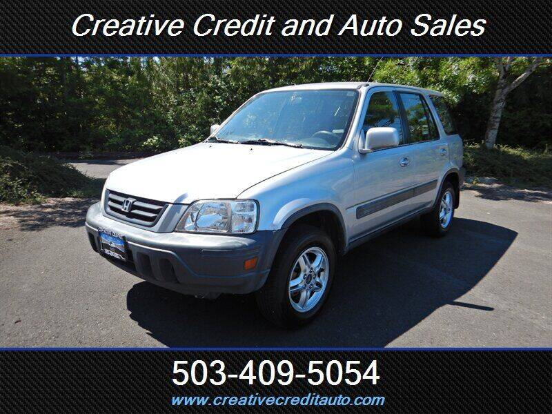 2001 Honda CR-V for sale at Creative Credit & Auto Sales in Salem OR
