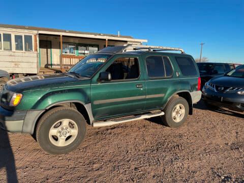 2001 Nissan Xterra for sale at PYRAMID MOTORS in Pueblo CO