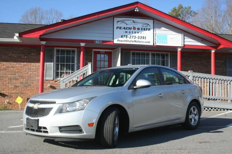 2014 Chevrolet Cruze for sale at Peach State Motors Inc in Acworth GA