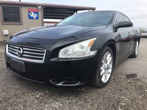 2012 Nissan Maxima for sale at Texas Country Auto Sales LLC in Austin TX