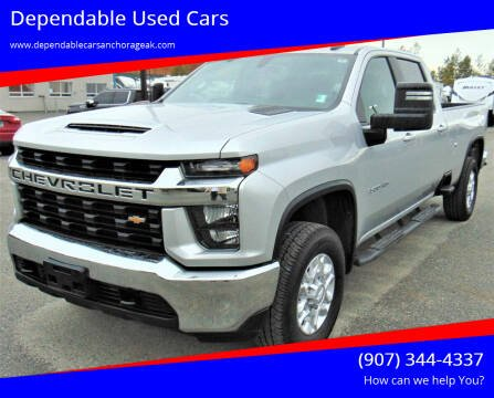 2020 Chevrolet Silverado 3500HD for sale at Dependable Used Cars in Anchorage AK