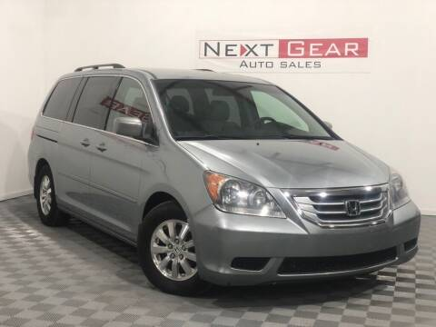 2009 Honda Odyssey for sale at Next Gear Auto Sales in Westfield IN