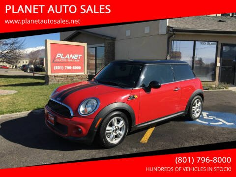 2013 MINI Hardtop for sale at PLANET AUTO SALES in Lindon UT