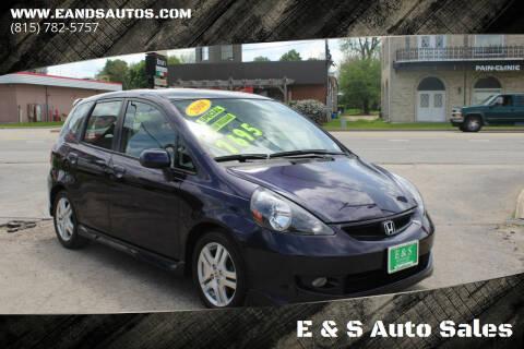 2008 Honda Fit for sale at E & S Auto Sales in Crest Hill IL
