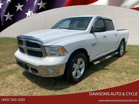 2013 RAM Ram Pickup 1500 for sale at Dawsons Auto & Cycle in Glen Burnie MD