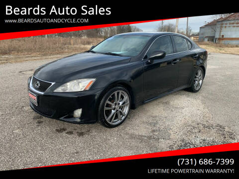 2008 Lexus IS 250 for sale at Beards Auto Sales in Milan TN