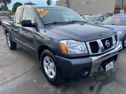 2006 Nissan Titan for sale at North County Auto in Oceanside CA