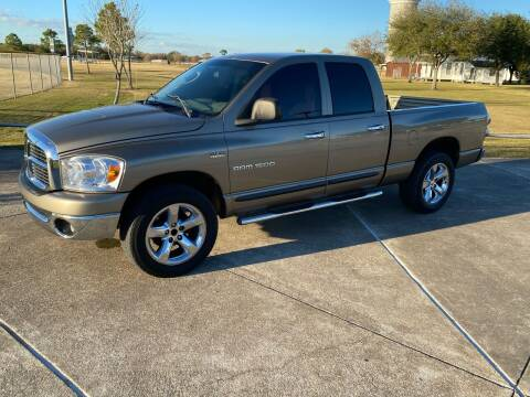 2007 Dodge Ram Pickup 1500 for sale at M A Affordable Motors in Baytown TX