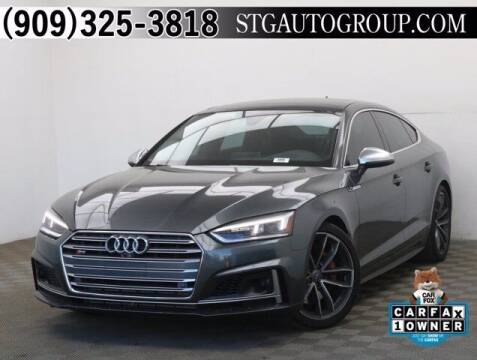 2018 Audi S5 Sportback for sale at STG Auto Group in Montclair CA