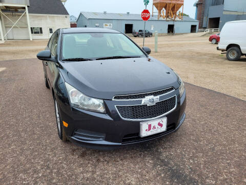 2013 Chevrolet Cruze for sale at J & S Auto Sales in Thompson ND