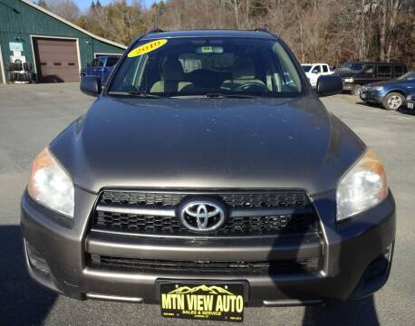 2010 Toyota RAV4 for sale at MOUNTAIN VIEW AUTO in Lyndonville VT