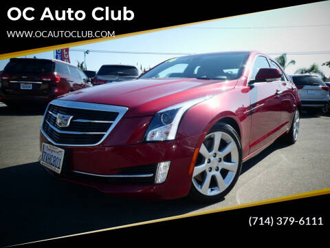 2016 Cadillac ATS for sale at OC Auto Club in Midway City CA