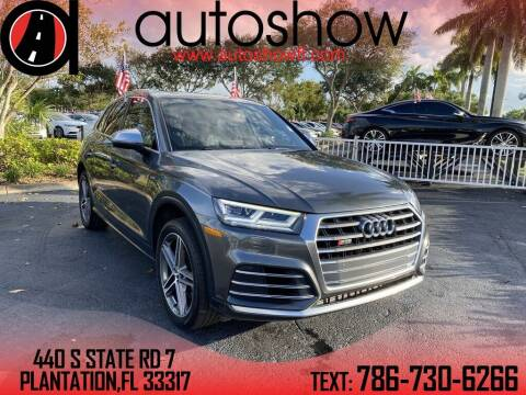 2018 Audi SQ5 for sale at AUTOSHOW SALES & SERVICE in Plantation FL