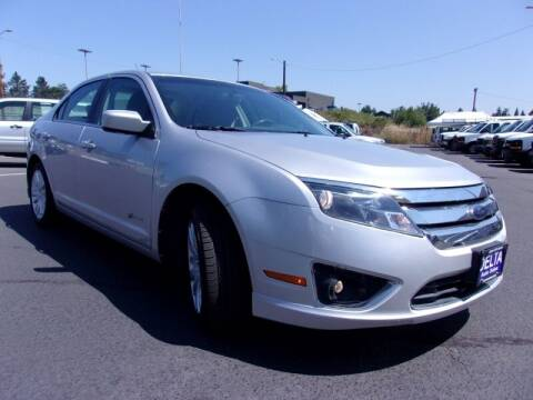 2010 Ford Fusion Hybrid for sale at Delta Auto Sales in Milwaukie OR