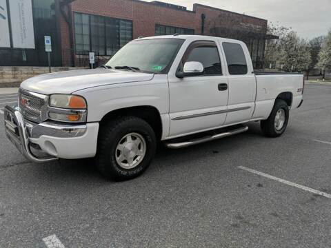 2003 GMC Sierra 1500 for sale at Auto Wholesalers Of Rockville in Rockville MD