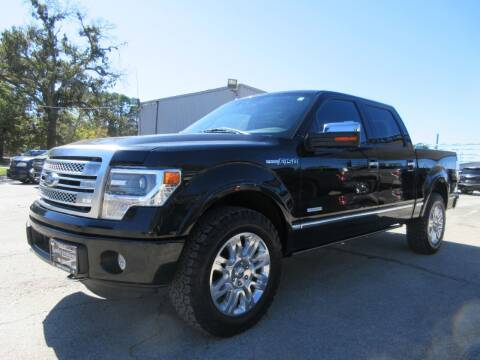 2014 Ford F-150 for sale at Quality Investments in Tyler TX