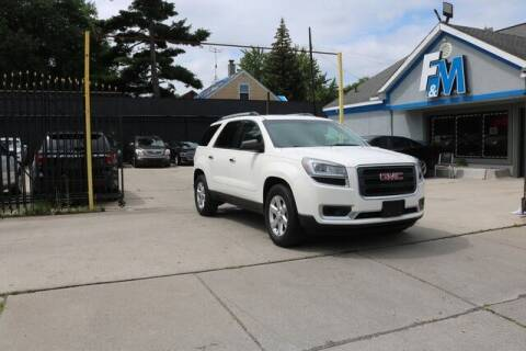 2014 GMC Acadia for sale at F & M AUTO SALES in Detroit MI