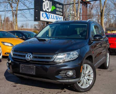 2014 Volkswagen Tiguan for sale at EXCLUSIVE MOTORS in Virginia Beach VA