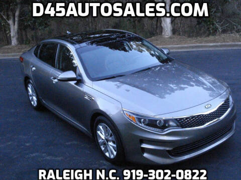 2017 Kia Optima for sale at D45 Auto Brokers in Raleigh NC