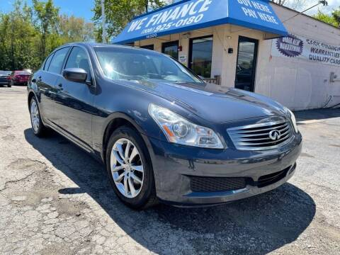 2009 Infiniti G37 Sedan for sale at Great Lakes Auto House in Midlothian IL