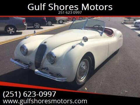 1952 Jaguar XK 120 SUPER SPORT for sale at Gulf Shores Motors in Gulf Shores AL