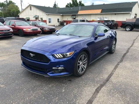 2016 Ford Mustang for sale at Dean's Auto Sales in Flint MI