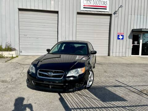 2008 Subaru Legacy for sale at CTN MOTORS in Houston TX