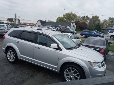 2011 Dodge Journey for sale at Peter Kay Auto Sales in Alden NY