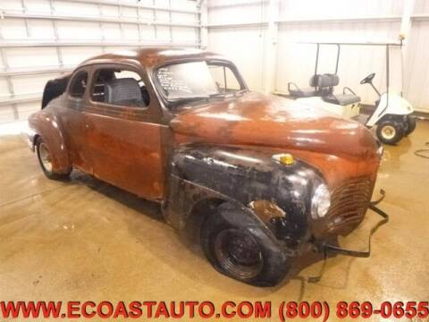 1946 Plymouth DELUXE COU for sale at East Coast Auto Source Inc. in Bedford VA