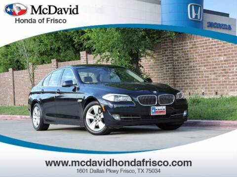 2013 BMW 5 Series for sale at DAVID McDAVID HONDA OF IRVING in Irving TX