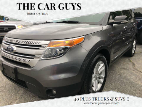 2014 Ford Explorer for sale at The Car Guys in Hyannis MA