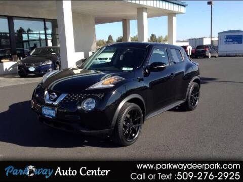 2015 Nissan JUKE for sale at PARKWAY AUTO CENTER AND RV in Deer Park WA