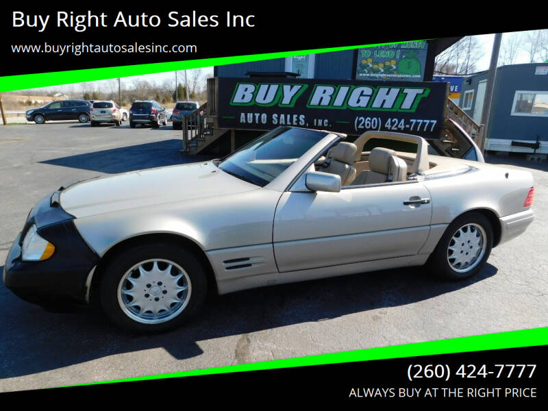 1997 Mercedes-Benz SL-Class for sale at Buy Right Auto Sales Inc in Fort Wayne IN