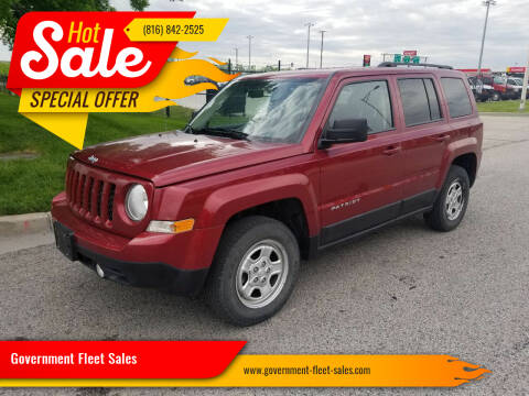 2014 Jeep Patriot for sale at Government Fleet Sales in Kansas City MO