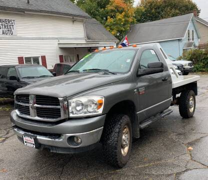 2008 Dodge Ram Pickup 2500 for sale at Amherst Street Auto in Manchester NH
