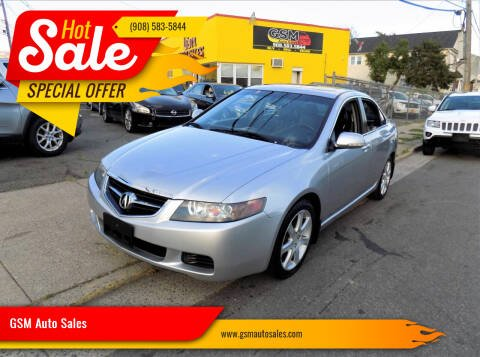 2004 Acura TSX for sale at GSM Auto Sales in Linden NJ