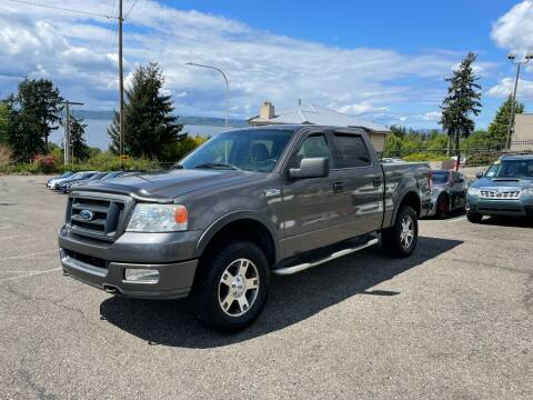 2004 Ford F-150 for sale at KARMA AUTO SALES in Federal Way WA