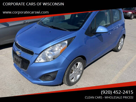 2014 Chevrolet Spark for sale at CORPORATE CARS OF WISCONSIN - DAVES AUTO SALES OF SHEBOYGAN in Sheboygan WI