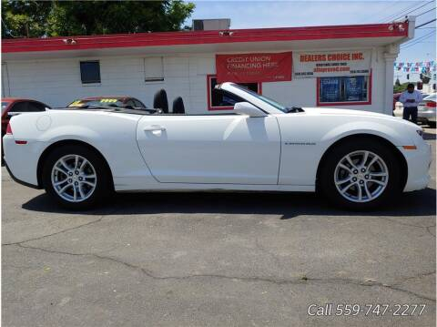 2015 Chevrolet Camaro for sale at Dealers Choice Inc in Farmersville CA