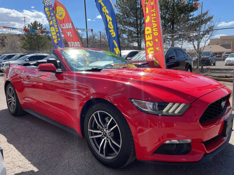 2017 Ford Mustang for sale at Duke City Auto LLC in Gallup NM