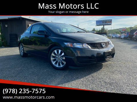 2011 Honda Civic for sale at Mass Motors LLC in Worcester MA