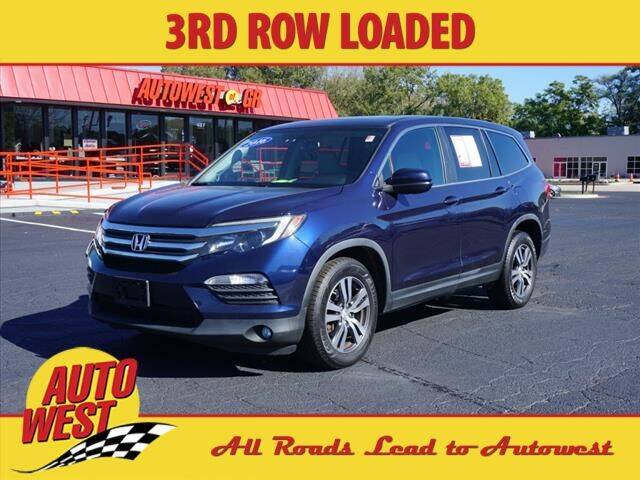 2016 Honda Pilot for sale at Autowest of GR in Grand Rapids MI
