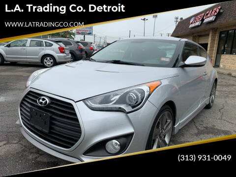 2013 Hyundai Veloster for sale at L.A. Trading Co. Woodhaven - L.A. Trading Co. Detroit in Detroit MI